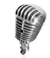 Mikrofon versilbern