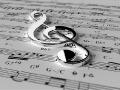 Violinschlüssel versilbern